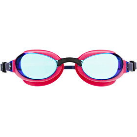 speedo W's Aquapure Mirror Goggle Electric Pink/Blue